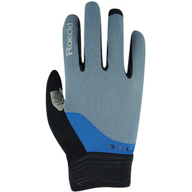Roeckl Mori Gloves, grey/blue